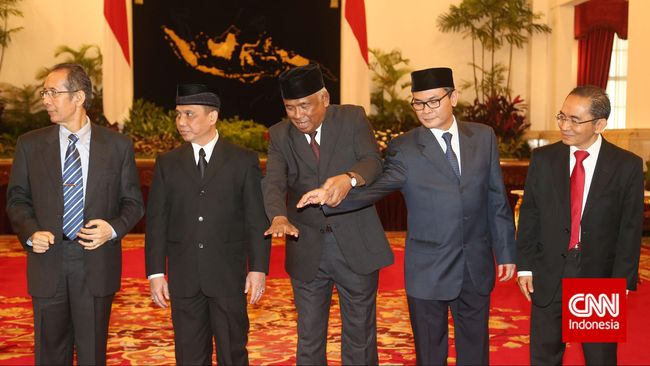 Temui Pimpinan DPR, Komisioner KPK Bahas Isu-Isu Terkini