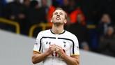 Berkali-kali Harry Kane menyelamatkan Spurs pada musim ini. Ia kini menjadi penyerang dengan performa paling apik di Liga Inggris. (Reuters/Eddie Keogh)