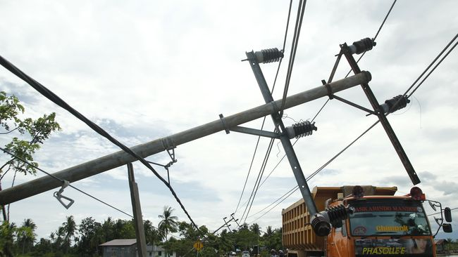 Diterjang Puting Beliung, Belasan Rumah di Aceh Utara Rusak