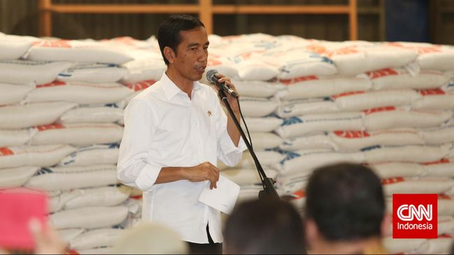 Pertanyakan Perkembangan Harga Beras, Jokowi Sindir Menteri