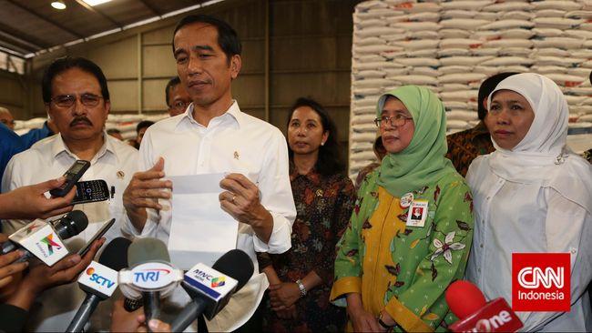 Menko Sofyan Akui Lupa Melaporkan Harga Beras ke Jokowi