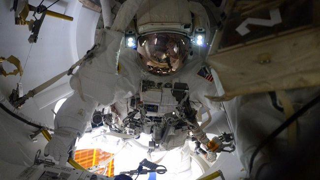 Ambil Sampel Lubang di ISS, Rusia Tepis Isu Sabotase