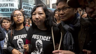 Warga Hong Kong yang Aniaya TKI Erwiana Ternyata Sudah Bebas