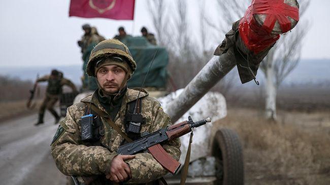 Ukraina Berlakukan Status Darurat Militer