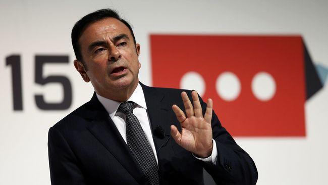 Bos Otomotif Carlos Ghosn Ditangkap di Jepang