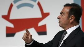 Saham Nissan Rontok Usai Penangkapan Carlos Ghosn