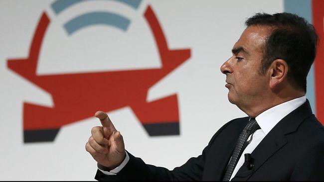 Masa Penahanan Ghosn Diperpanjang Sampai 10 Desember