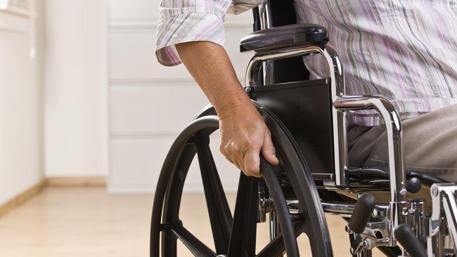 Pria dengan Kursi Roda Rampok Bank di New York