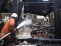 Api Berkobar Selama 45 Menit di Margo City