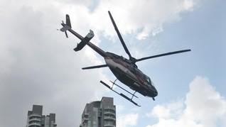 Bayar Rp6 Juta, Turun Pesawat Bisa Langsung Naik Helikopter
