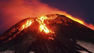 Gunung Meletus di Papua Nugini, Warga Melarikan Diri