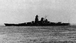 Kapal Perang Terbesar Jepang pada PD II Ditemukan