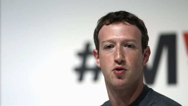 Saham FB Meroket, Mark Zuckerberg Orang Terkaya No. 9 Dunia