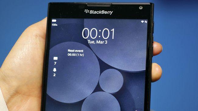 Tak Jual Smartphone, Blackberry Incar Bisnis Keamanan Data