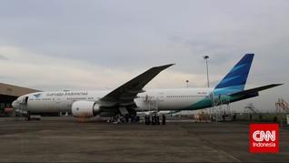 Pesawat Garuda Tergelincir saat Mendarat di Adisutjipto