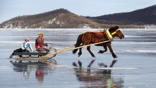Mongolia Gelar Festival Musim Dingin di Februari