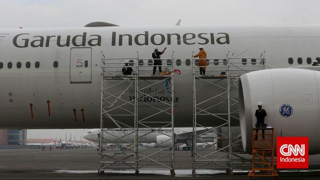 Garuda Indonesia Group Teken Kontrak US$2,4 M di Singapura