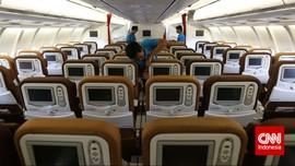 Mimpi Buruk Penumpang Pesawat, Ada Kaki di Kursi