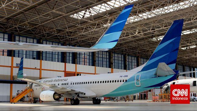 Pesawat Retak, Garuda Indonesia Lakukan Pemeriksaan Lanjutan
