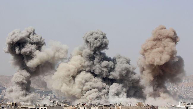 Serangan Udara Suriah Tewaskan 29 Orang
