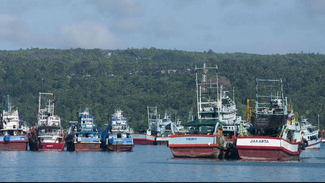 Kementerian KKP Hapus 363 Kapal Eks Asing