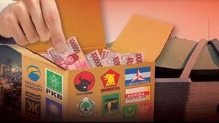 Dana Bantuan Parpol Berpotensi Naik Rp1.000 Per Suara