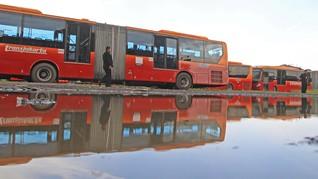 Bus Transjakarta dari China Kondisi Baru bukan Rekondisi