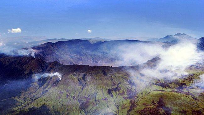 Cerita Dahsyatnya Letusan Gunung Tambora 200 Tahun Lalu