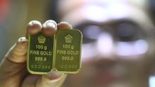 Harga Emas Tertekan Pengumuman Kesepakatan AS-China