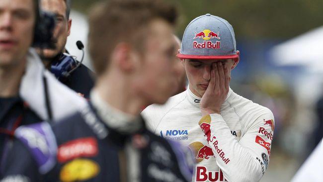 Pembalap Termuda dalam Sejarah F1 Itu Pun Tertunduk Lesu