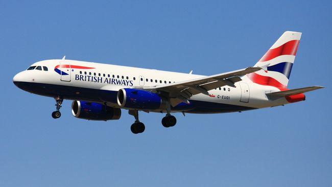 Puluhan Kru Sakit, Pesawat British Airways Mendarat Darurat