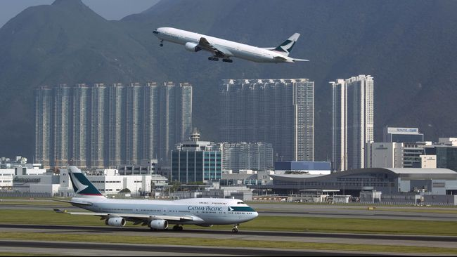China Larang Terbang Awak Maskapai Terlibat Demo Hong Kong