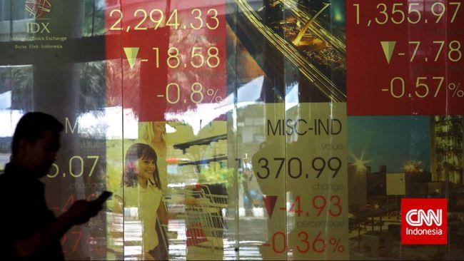 IHSG Ambruk 1,7 Persen Terimbas Suspensi Bursa China
