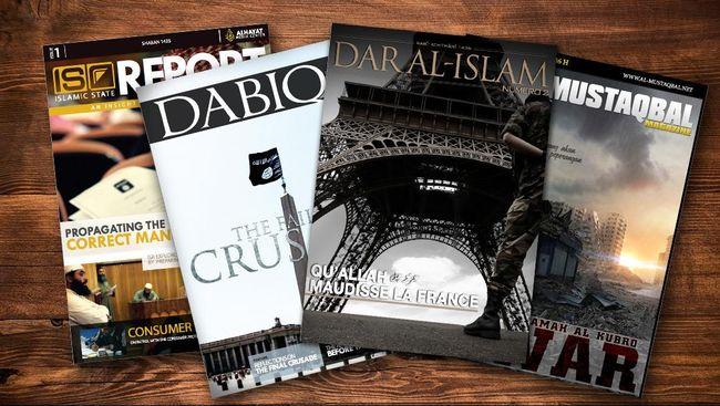 Perbedaan Majalah Terbitan ISIS dengan Al-Qaidah