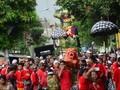Karangan Bunga dari SBY dan Agung Laksono Hiasi Kongres PDIP