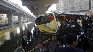 Puluhan WNI Kecelakaan Bus di Malaysia