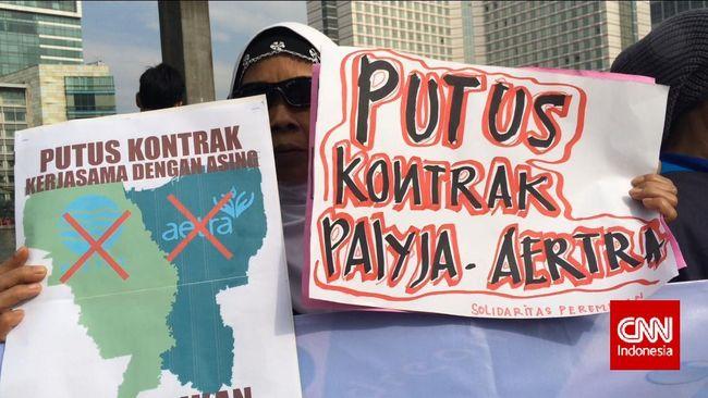 Putusan MA Perintahkan Negara Setop Swastanisasi Air Jakarta