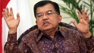 JK Soal Jatah Menteri: Kursinya Sedikit Jangan Dapat Lebih