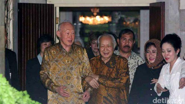 Tak Ada Kicauan soal Soeharto di Twitter Tommy dan Titiek