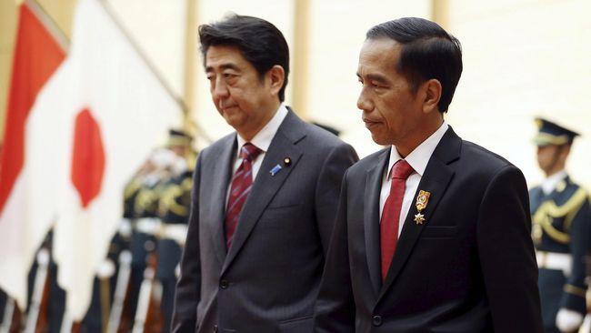 Jokowi dan Shinzo Abe Sepakati Forum Maritim