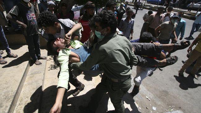 Hantam Pasar, Serangan Arab Saudi ke Yaman Tewaskan 50 Orang