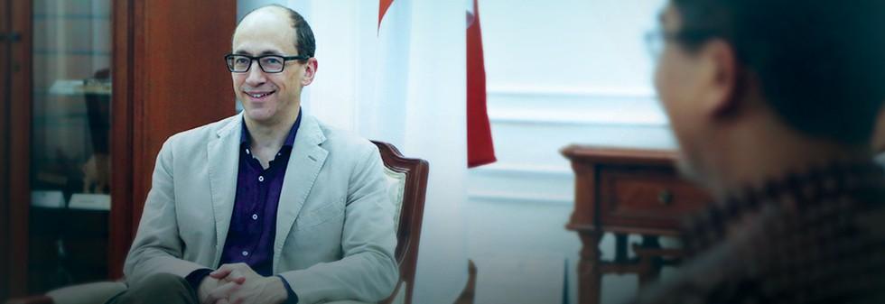 Buka-bukaan CEO Twitter di Jakarta