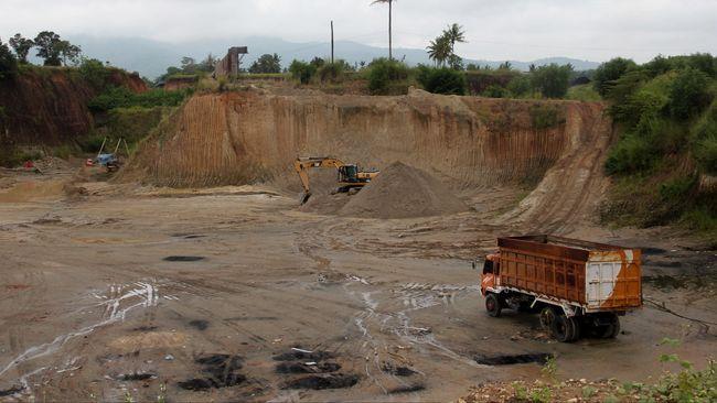 Polisi Gerebek Tambang Emas Ilegal di Aceh