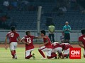 Bermain Dengan 10 Orang, Indonesia U23 Taklukkan Malaysia