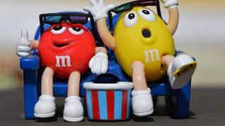 Permen Cokelat M&M's Banting Setir ke Karamel