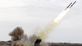 Roket Hantam Jantung Ibu Kota Irak