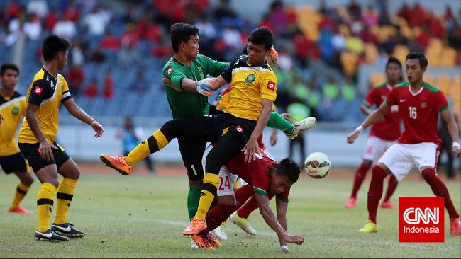 Timnas Indonesia U-23 Terakhir Susah Payah Kalahkan Brunei