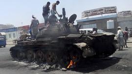 Pertempuran Terus Terjadi di Kota Aden, Yaman