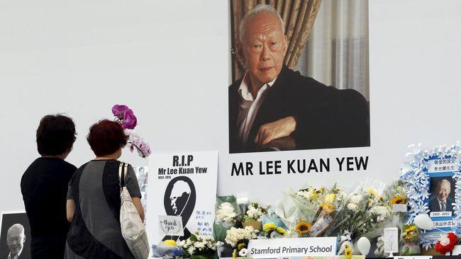 Prosesi Pemakaman Lee Kuan Yew