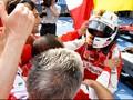 Menang, Sebastian Vettel Patahkan Pekan Sempurna Hamilton